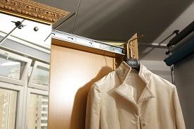 Направляющие для развешивания выглаженной одежды